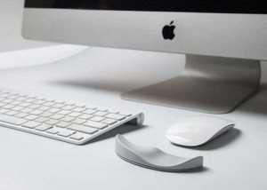 Apple Mouse Ergonomic Mouse Pad (video)