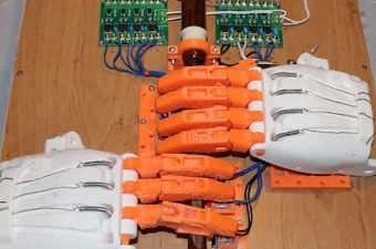 Arduino Bagpipe Playing Robot