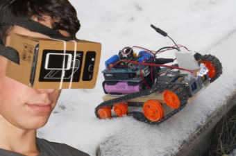 Arduino FPV VR Robot
