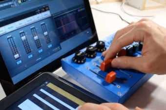 Arduino MIDI Input Fader