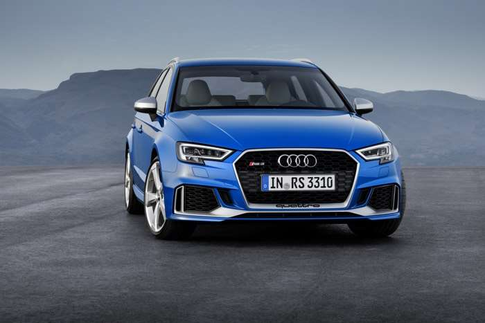 Audi RS 3 Sportback To Be Unveiled At Geneva Motor SHow