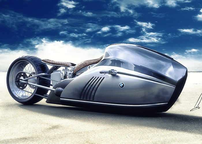 BMW K75 Alpha Motorcycle Concept