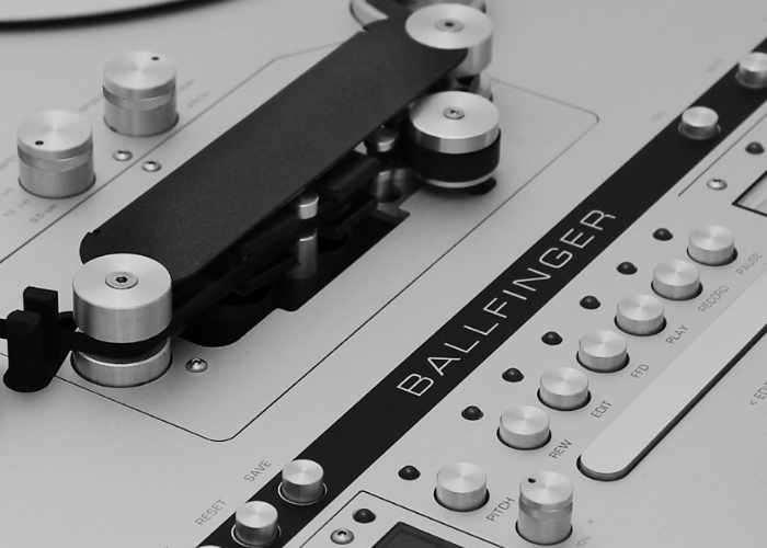 Ballfinger Reel-To-Reel Tape Player-1