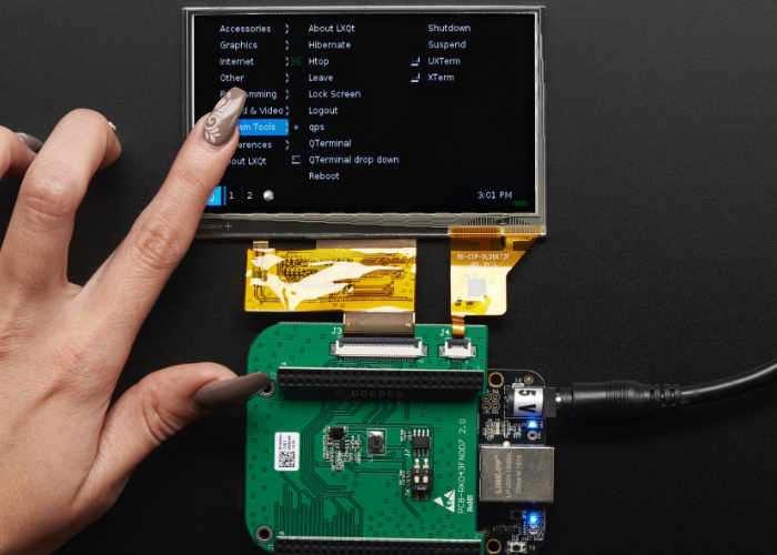 BeagleBone LCD Capacitive Touchscreen