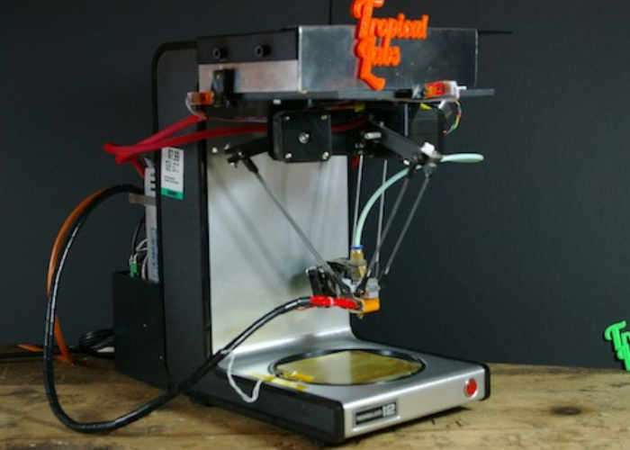 Coffee Maker Transformed Into A 3D Printer