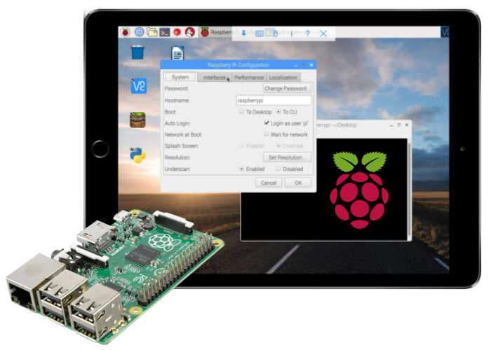 rex controls raspberry pi how to connect remotely