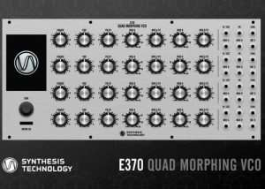 E370 Quad Morphing VCO Created By Paul Schreiber (video)