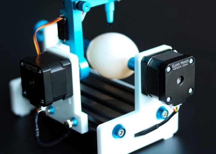 EleksEgg CNC Egg Artwork Drawing Machine