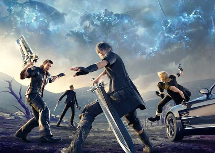 Final Fantasy 15 PS4 Pro Patch