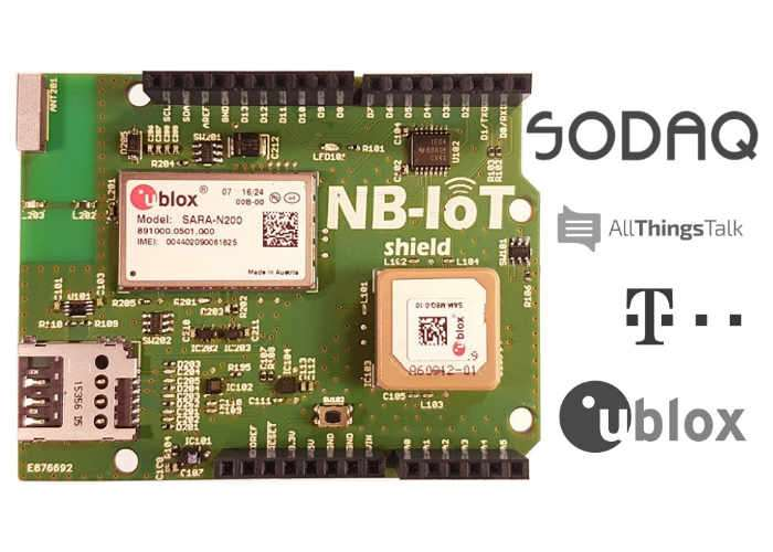Internet Of Things NB-IoT Shield For Arduino