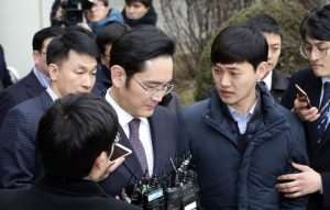Samsung Boss Jay Y Lee Arrested On Alleged Bribery Charges