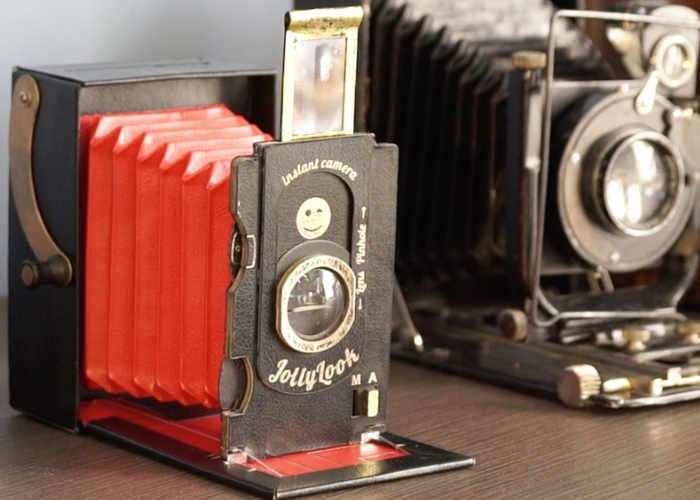 Jollylook Vintage Instant Cardboard Camera