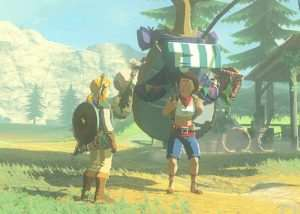 Legend Of Zelda Breath Of The Wild Images Reveal New And Old Characters