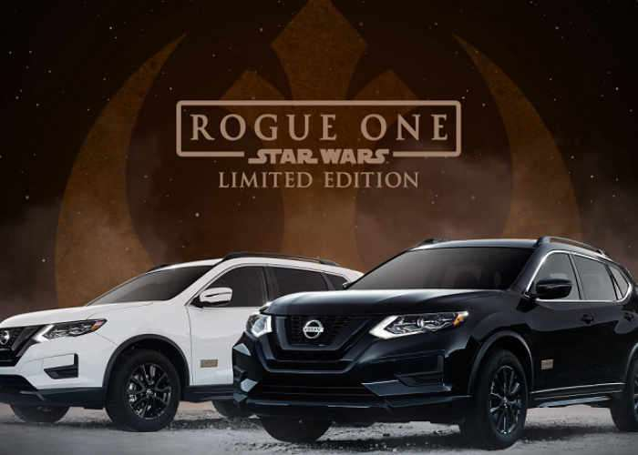 Limited Edition Nissan Rogue One Car