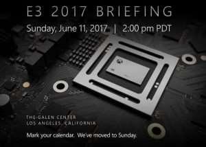Microsoft E3 2017 Xbox Press Conference Brought Forward