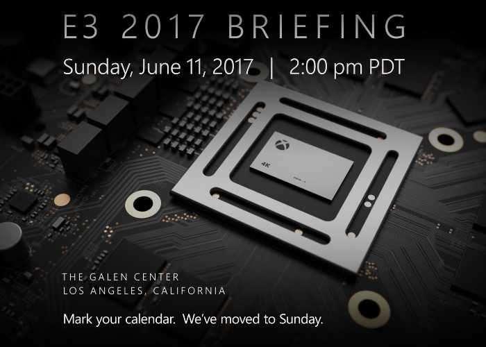 Microsoft E3 2017 Xbox Press Conference