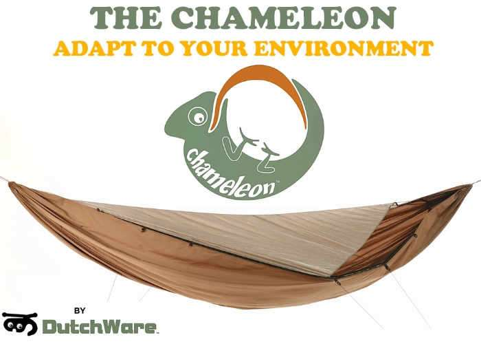 Modular Lightweight Chameleon Hammock