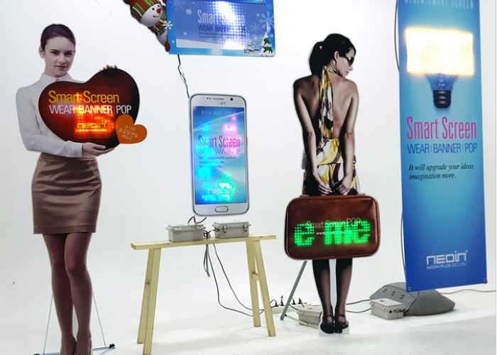 NS2 Plus LED Smart Screen