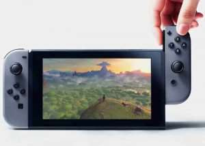 Nintendo Switch Start-up And Features Demonstrated (video)