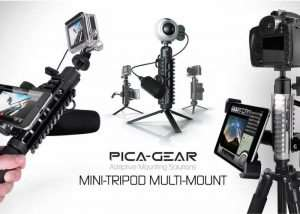 PICA-POD Smartphone And Camera Adaptive Mounting Solution (video)