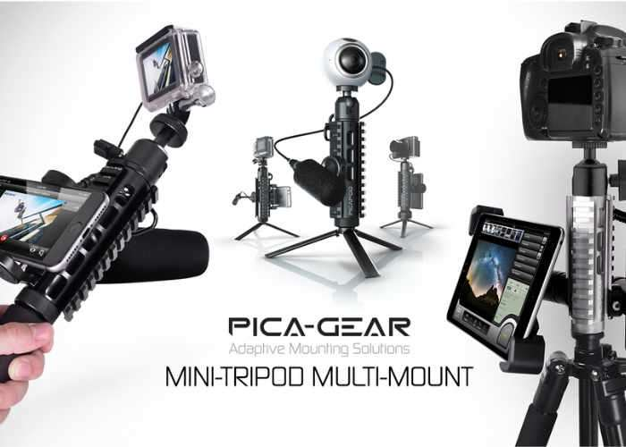 PICA-POD Smartphone Mounting Solution