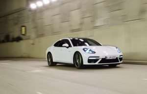 Porsche Panamera Turbo S E-Hybrid Goes For A Spin (Video)