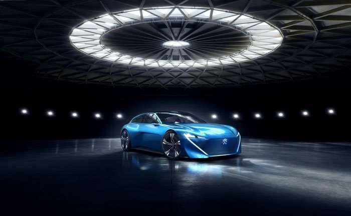 Peugeot unveils autonomous PHEV concept
