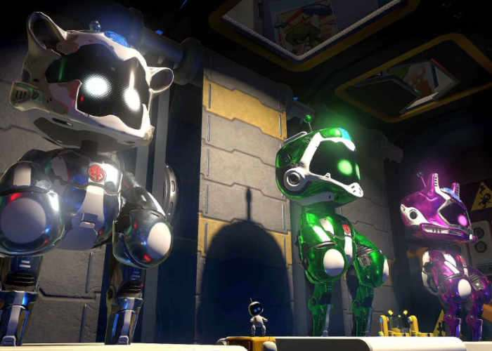 PlayStation VR Toy Wars Game