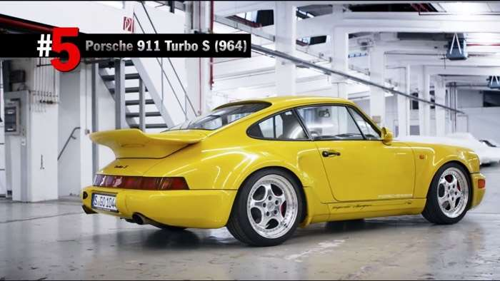Porsche Shows Off Some Rare Cars