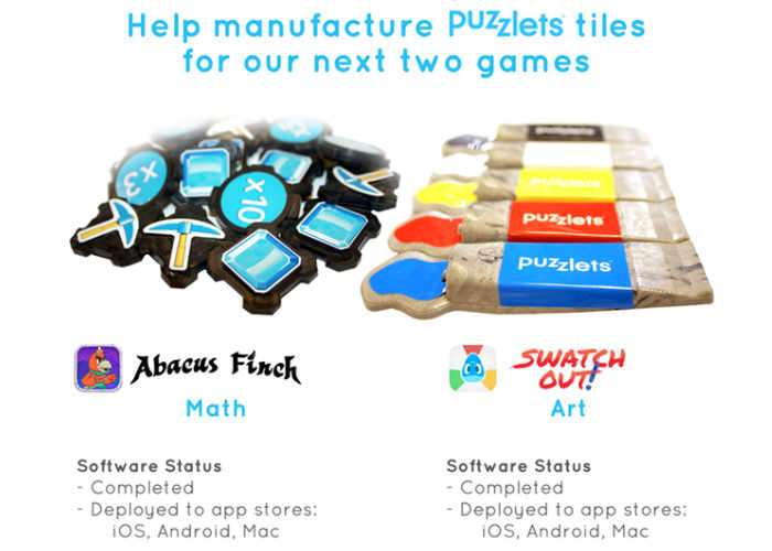 Puzzlets Maths And Art Game