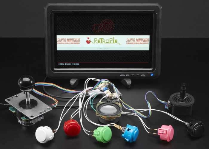 Raspberry Pi Arcade Bonnet