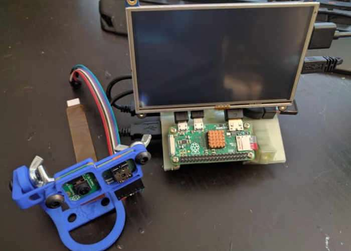 Raspberry Pi Portable Thermal Video Overlay Creator