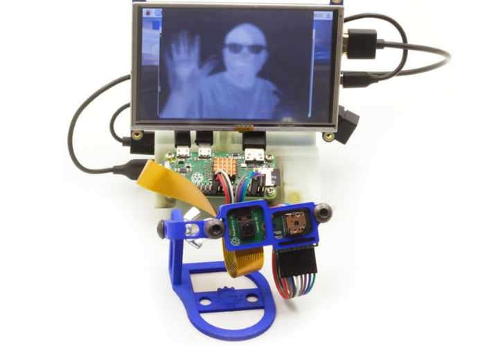 Raspberry Pi Portable Thermal Video Overlay Creator (video)