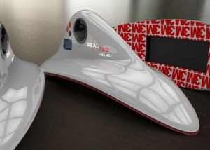 Real720Helmet 360 Degree Recorder Kit For Motorbike Riders (video)