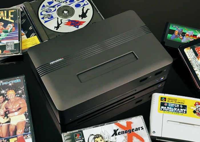 Retroblox Modular Retro Gaming Console