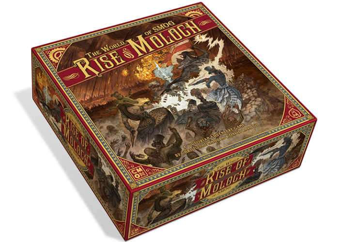 The World of SMOG Rise of Moloch Board Game