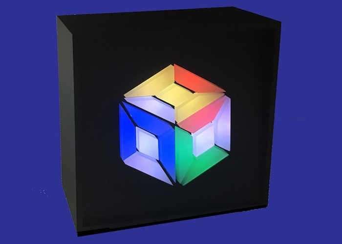 TimeCubed Digital Art Clock