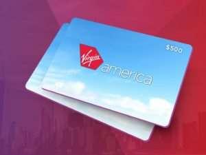 The Virgin America $500 Giveaway