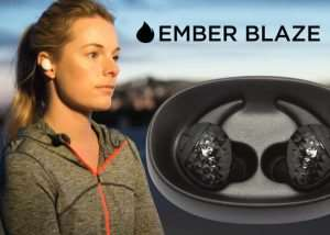 Ember Blaze Wireless Stereo Earbuds Hit Kickstarter (video)
