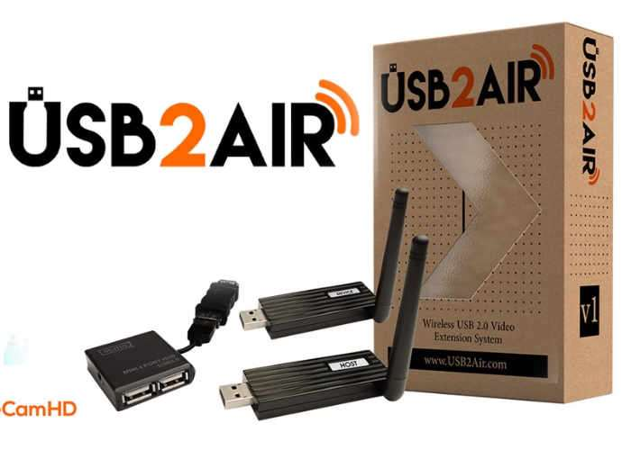 Wireless USB 2.0 Video Extension