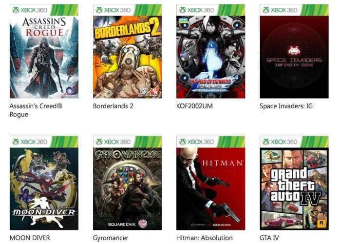 Xbox One Backwards Compatibility Support
