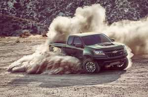 2017 Chevrolet Colorado ZR2 Starts at $40,995