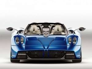 Pagani Huayra Roadster Ditches the Top