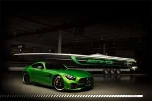 Mercedes-AMG and Cigarette Racing Build a Beastly Boat