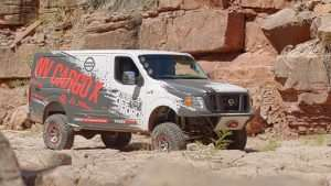 Nissan Builds One-of-a-Kind NV Cargo X Diesel Off-road Van