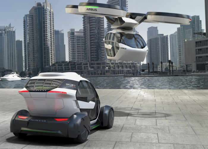 Airbus Modular Pop.Up Flying Car