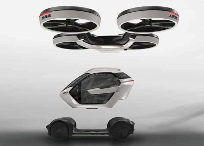 Airbus Modular Pop.Up Flying Car Concept