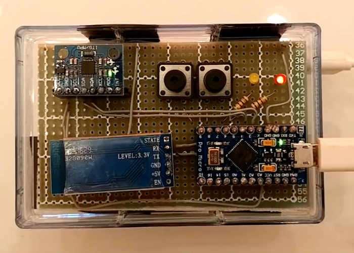 Arduino Gesture Keyboard