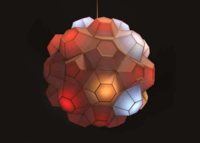Arduino Powered 3D Printed Lamp