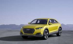 Audi Q4 Coming In 2019 Based On The Audi TT Offroad Concept